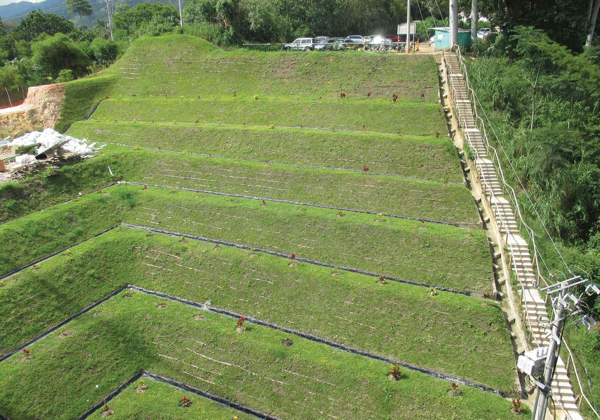 Análisis y Diseño de Taludes - Control de Erosión