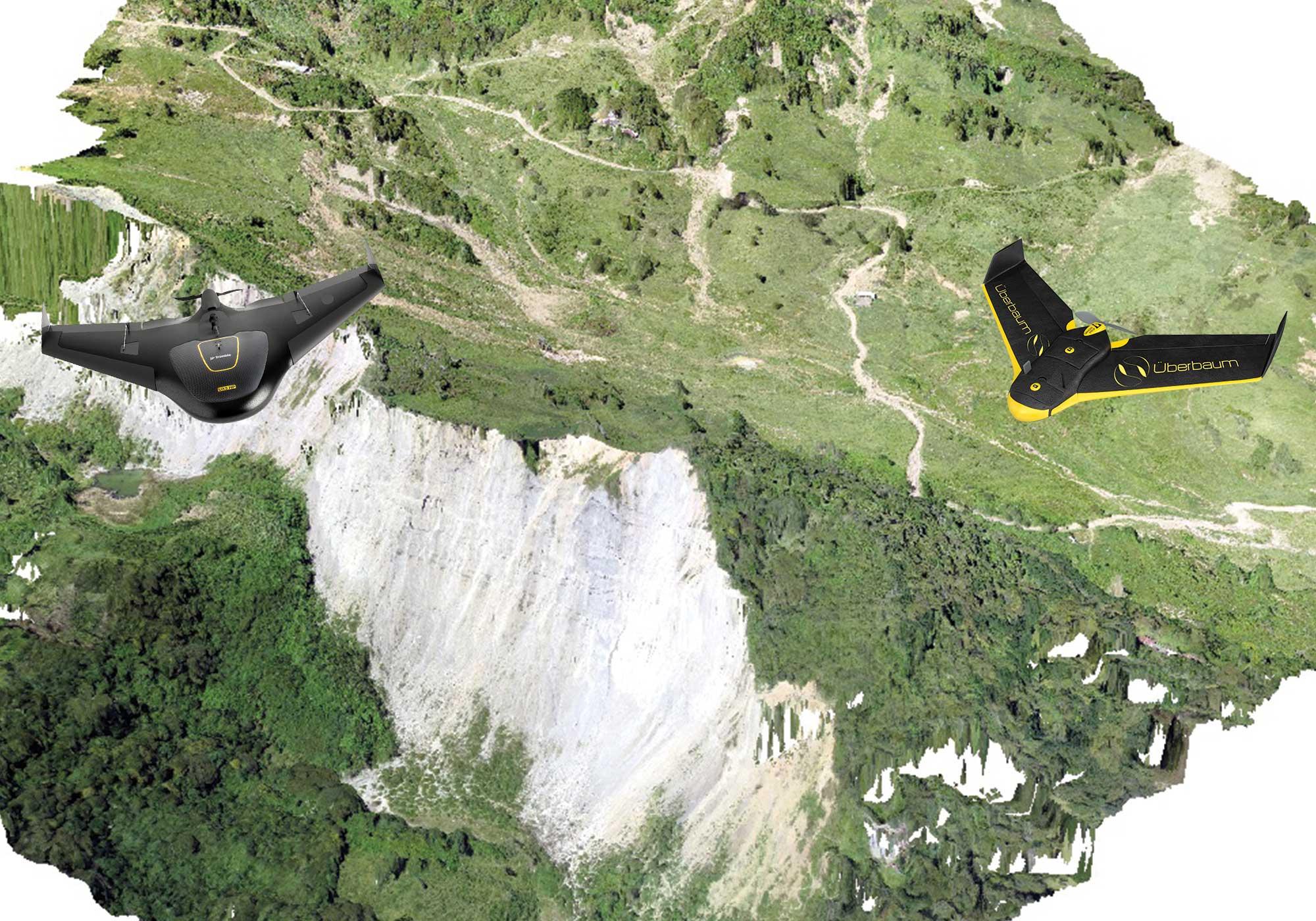 Fotogrametría y Cartografía - Levantamiento con Avión no Tripulado